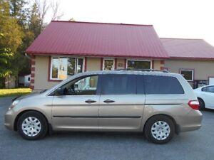 2007 Honda Odyssey LX garantie 1 an / 15000