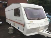 Abbey Stafford 5 Berth Caravan Light Weight End Bedrooms Ideal Starter Van