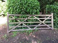 Old super heavy 10ft gate