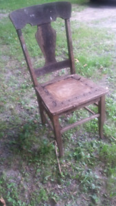 Vintage Solid Wood Chair