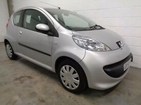 PEUGEOT 107 , 2009 , 36000 MILES + HISTORY , £20 ROAD TAX , LONG MOT , FINANCE AVAILABLE , WARRANTY