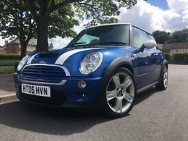 2005 05 Mini Cooper S 1.6 supercharged low mileage tv dvd FSH!! PX !!!CARDS ACCEPTED***
