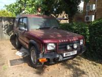 2000 LAND DROVER DISCOVERY TD5 2.5 DIESEL SPARES OR REPAIR