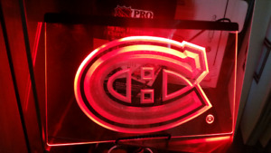 Montreal Canadians led light