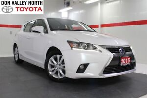 2015 Lexus CT 200h Btooth Heated Lthr Pwr Seats Wndws Mirrs