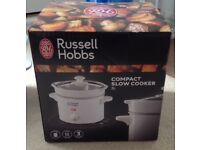 Russell Hobbs white small slow cooker