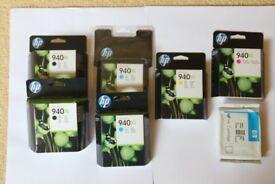 HP 940 XL Ink Cartridges - Unused