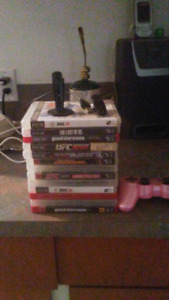 ps3 games controller and bluetooth head sets