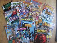 Box comics 1990's
