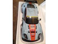 Garcia,Turner,Brabham signed Aston Martin DBR9