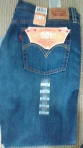 BRAND NEW WITH TAGS WOMEN'S LEVIS 501