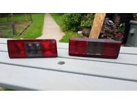 Complete pair of Vauxhall combo rear lights for sale.