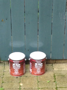 2 CANS WOODSHIELD EXTERIOR STAIN FOR DECK OR SIDING