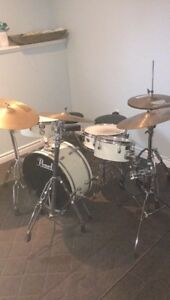Eight Piece Pearl Drum Kit