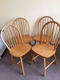 windsor style dining chairs