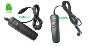 ✔ Nikon And Canon Cable Shutter Releases - BRAND NEW!