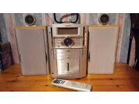 Grundig hifi stereo radio - rds, 3cd, cassette
