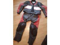 Triumph motorbike leathers mens