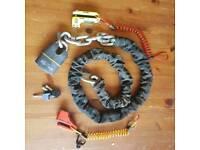 Motorbike locks and chains