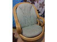 COLLECTED - Bamboo Rattan Rock & Swivel Chair(conservatory furniture)