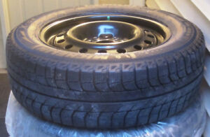 MICHELIN X-ICE; ON RIM; ALMOST NEW; A STEAL