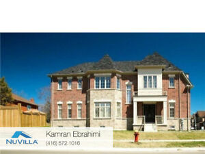 New Detached 4 Bedroom House  In Richmond Hill for Rent