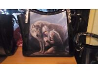 Anne stokes colkection hand bags