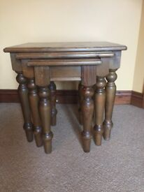 Country Pine Nest of Tables