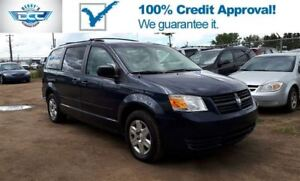 2010 Dodge Grand Caravan SE 3.3L V6 Stow N Go Seats!!