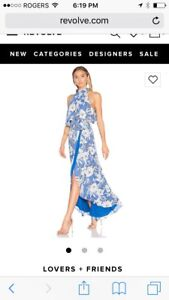 BNWT lovers and friends Maxi dress