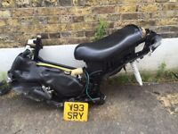 Gilera runner 125 sp frame and full look loads there