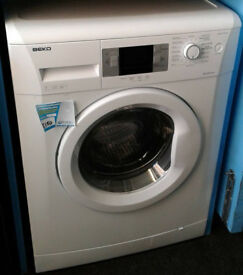 O792 white beko 7kg 1600spin A++ rated washing machine comes with warranty can be delivered