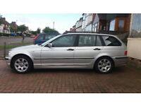 BMW, silver diesel 320d CDI SE Touring