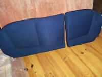 car - Rear bench seat for Fiat Punto, mark 2 and 3 (year 2000-2005)