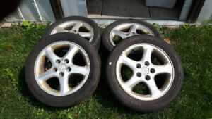Set of 02 Mazda Protege Wheels
