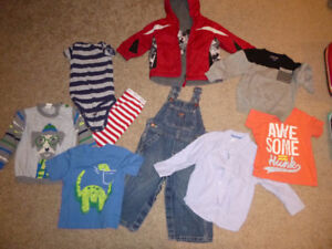 boys 12 month fall/winter - 9 pieces