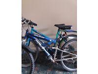 X2 mountain bikes
