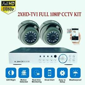 2xHD1080P CCTV Cameras+1TB Hard Drive With Free Installation