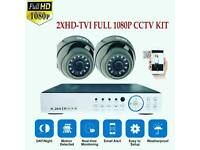 2xHD1080P CCTV Cameras+1TB Hard Drive With Free Installation