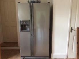 Samsung American style fridge freezer with ice and water dispenser