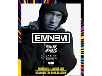 Eminem Tickets - Bellahouston Park, Glasgow. 24th Aug 2017