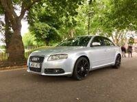 2007 Audi A4 SLine Tdt 5 Doors | Automatic| Left hand Drive | Hpi Clear | 1 Year MOT | Leather Seats