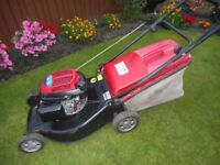 Mountfield SP 535 Petrol lawnmower [Honda engine].