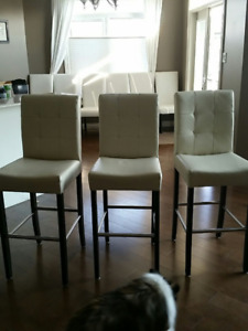 Set of 3 Bar Chairs