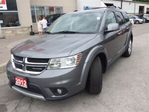 2012 Dodge Journey R/T AWD|7 PASSENGER|LEATHER|SUNROOF