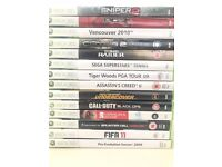 Xbox 360 games bundle: 14 games - very good condition