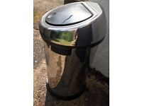 Brabantia 50l Touch Bin Silver Needs a clean, good condition