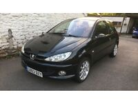 Peugeot 206 Gti 2003 , vgc, 78,000 from new , new mot , great running, services history