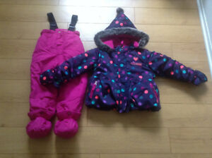 Snow suit for 24 months girl