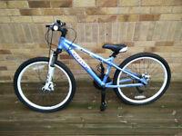"!!! Carrera Luna Mountain Bike 24"" Blue/White !!!"
